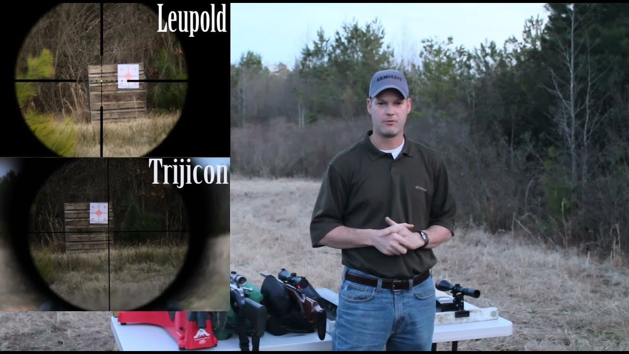 Armslist - Ultimate Low Light Hunting Scope Comparison, Trijicon TR22,  Leupold VX3, and many more!