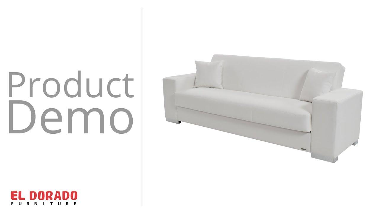 Kobe Futon Sofa. El Dorado Furniture