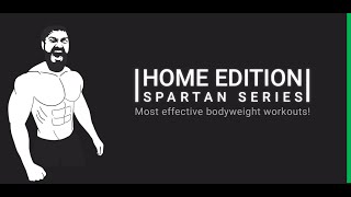 Home workouts: Spartan Series FREE