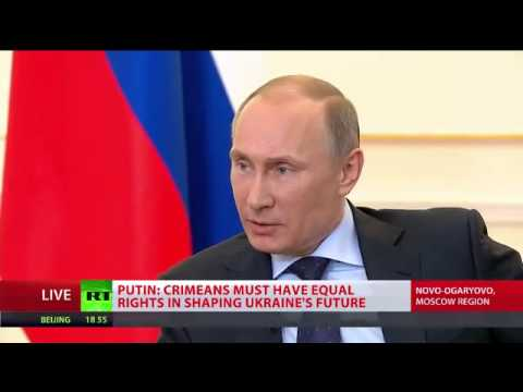 Putin - US wars in Afghanistan, Iraq, Libya distorted int. law