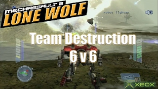 MechAssault 2: Lone Wolf | Original Xbox Game Night (Team Destruction Match #3)