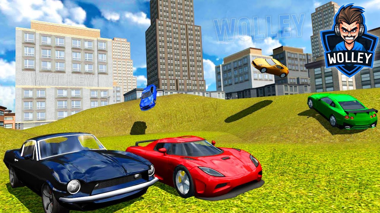 Multiplayer Driving Simulator   Android Gameplay HD   Sports Cars Racing  Games For Kids