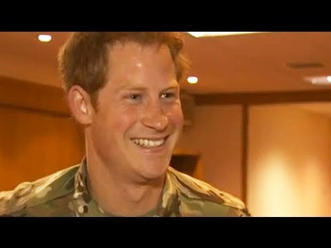 Prince Harry: I'm longing to see William and Kate