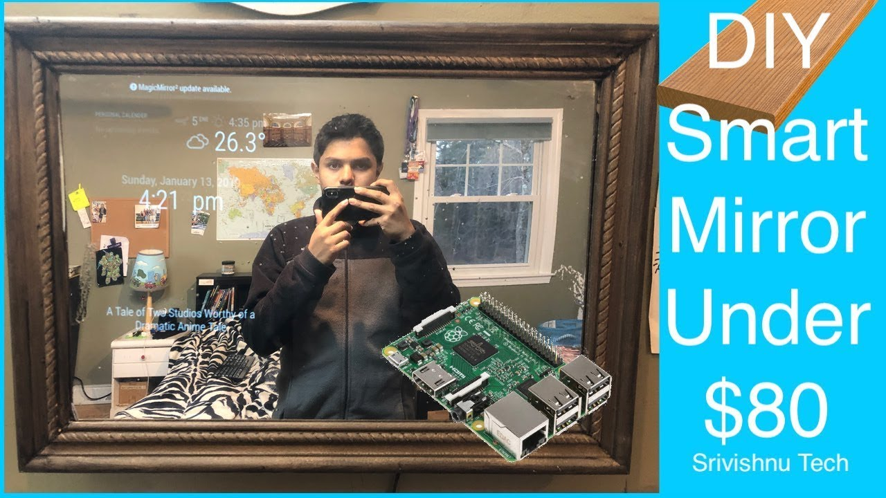 Make your own smart mirror-[Video]
