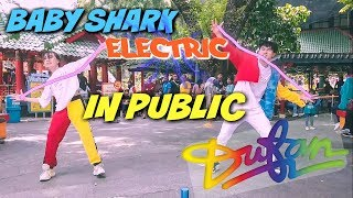Download lagu BABY SHARK REMIX CHALLENGE IN PUBLIC DI DUFAN