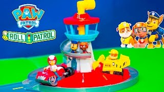 PAW PATROL Nickelodeon Launch and Roll Lookout Tower New Toys Video(We love Paw Patrol on Nickelodeon !! See all of our Surprise videos http://www.youtube.com/playlist?list=PLoLQ9unpi4OEEM3rUVjLGa0pUaXQvW3Wd Please ..., 2016-07-27T08:00:02.000Z)