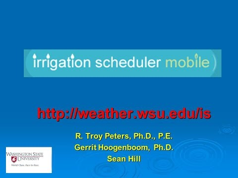 DNMP Training (Yakima) - 05 - Irrigation Water Management