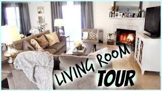 Living Room TOUR!
