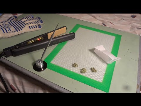 ROSIN TECH!!! (Easy Way to Make Hash Oil)