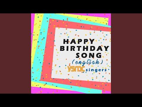 Happy Birthday Song English