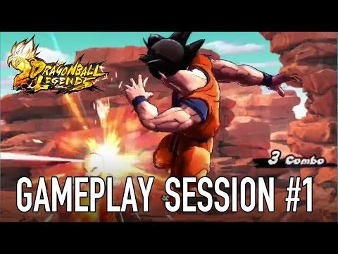 Dragon Ball Legends - iOS/Android - Gameplay Session #1
