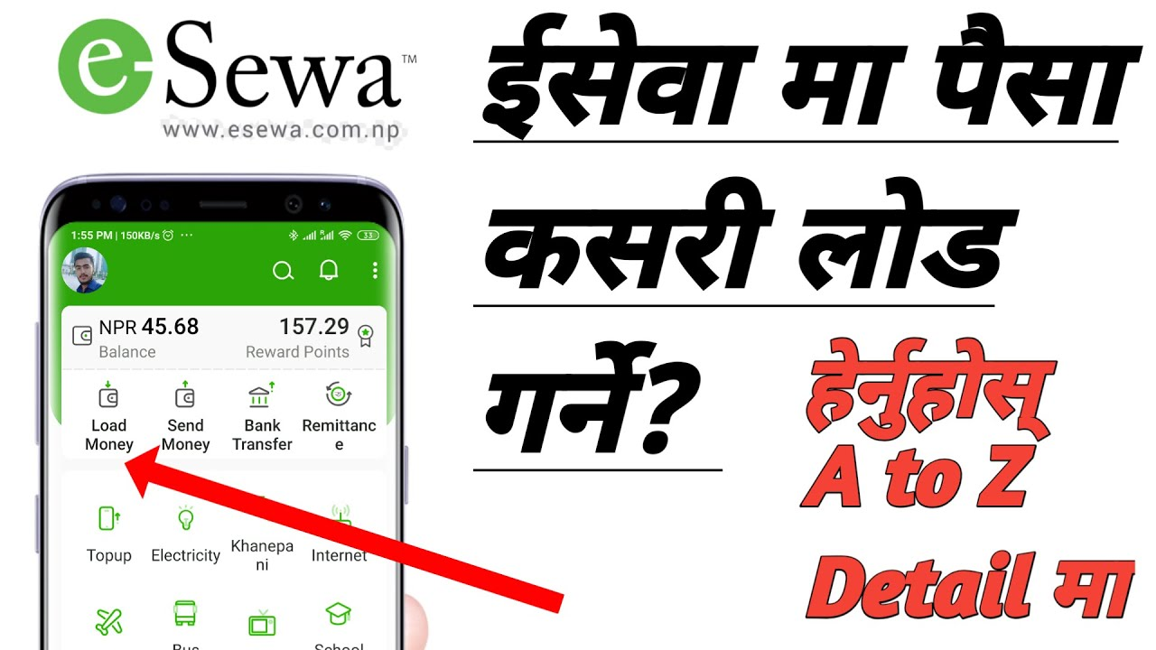 How To Transfer Money From Mobile Banking To Esewa