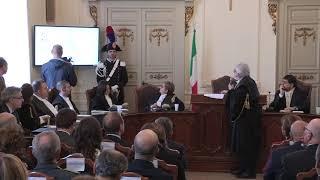 Inaugurazione anno giudiziario 2019 del Tar Puglia, sede di Bari