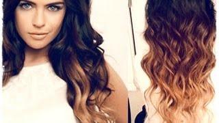 Модный цвет волос омбре на темные волосы(Покраска волос омбре - тренд 2014 (плавный переход одного цвета в другой). Чтобы покрасить волосы омбре в домаш..., 2014-07-16T17:59:26.000Z)