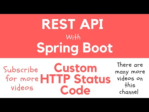 Return Custom Status Code from Rest Controller - Apps