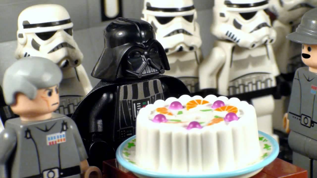 lego star wars - darth vader's birthday. - youtube