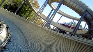 Avalanche front seat on-ride HD POV Kings Dominion