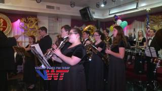 Virginia Women for Trump 2017 Inaugural Celebration featuring Texas Marching Band
