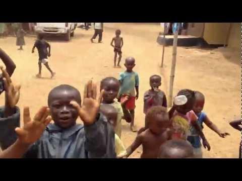 Sierra Leone Children Dance Me Out of Their Village