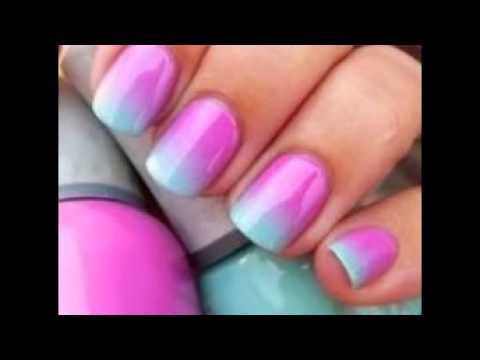 Como pintar las u as con esponja youtube - Como pintarse las unas bien ...