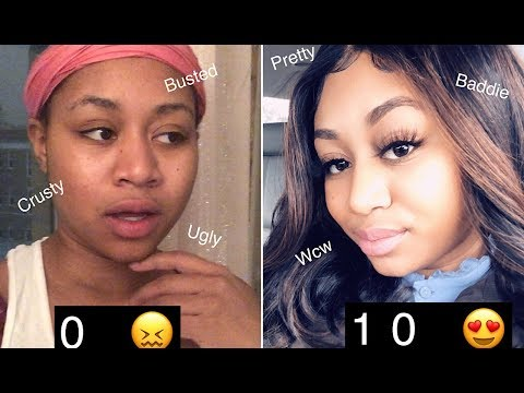🤑 spending $1000 to look less ugly 🤔 glow up challenge  Kiana LaShay ft Teami