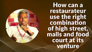 How can a restaurateur use the right