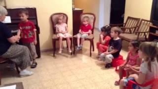 Урок Музыки - подготовительная группа 3-4 лет