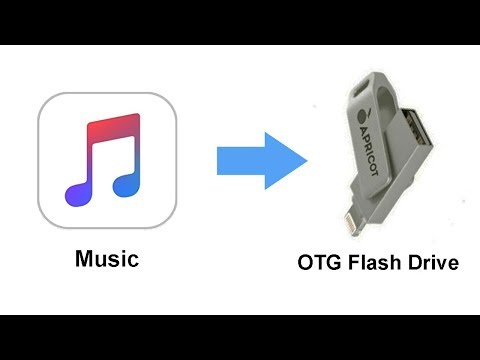 How to Transfer music from iPhone Music Library to OTG Flash Drive