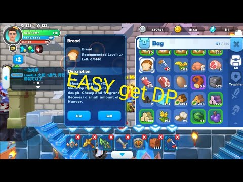 Craft Legend | Easy Get food for Newbie