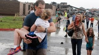 Oklahoma tornado: elementary school moments after tornado struck
