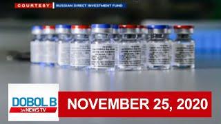 Dobol B Sa News TV Livestream: November 25, 2020 | Replay