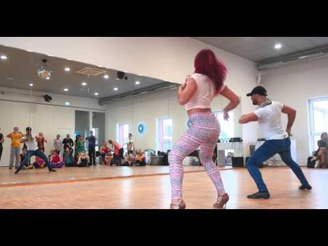 Fadi Fusion & Romy Fournelle | Salsa Open Shines @ Son Latino | SALSATION FESTIVAL 2014 GH4 4K