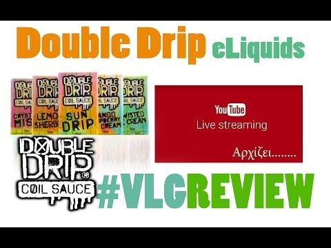 Double Drip eliquids - Vapelikegeek Live Review & online Giveaway