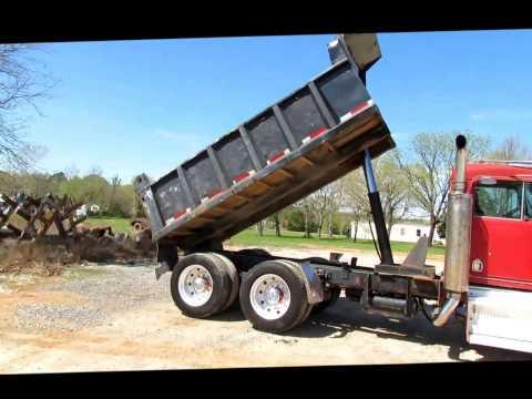 1975 Kenworth W900 dump truck Demo
