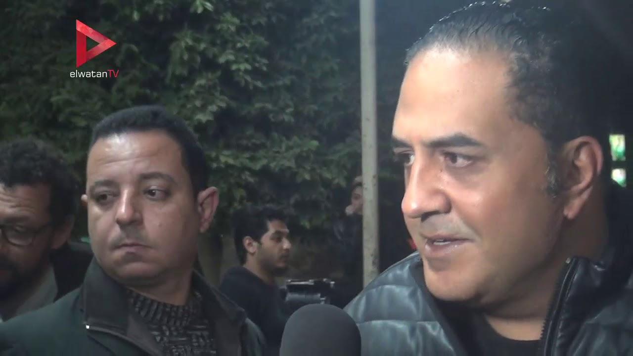 الوطن المصرية:عزت العلايلي وأشرف زكي ووحيد حامد في عزاء الناقد علي أبوشادي