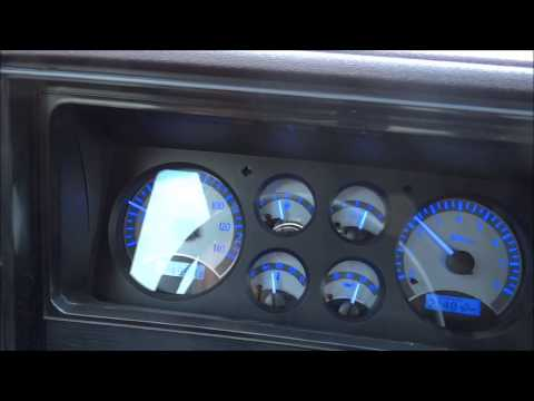 Dakota Digital Dash Vhx In Action In A 1985 Monte Carlo