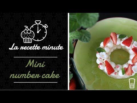 🍰-mini-number-cake---recette-facile-🍰