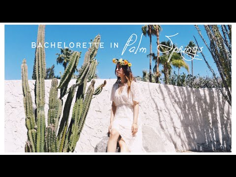 Bachelorette Party Vlog  팜스프링 베첼러렛 파티 브이로그 in Palm Springs