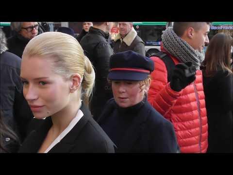 Lottie MOSS @ Paris 21 january 2019 Fashion Week show Schiaparelli Haute Couture