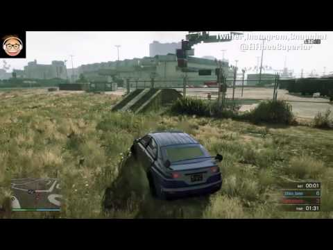 Grand Theft Auto 5 Deathmatch Extreme PARKOUR