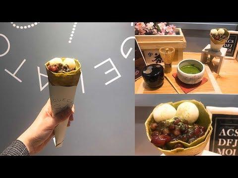 gelato pique café X TSUJIRI辻利茶舗聯名推出「抹茶系列可麗餅」