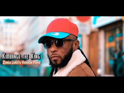 Kimbangu The King - Zenga Luketu Version Paris ( Clip Officiel) HD