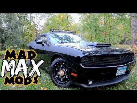 Dodge Challenger Mods 3 Inch Lift Truck Tires Offroad
