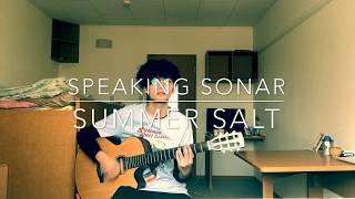 speaking sonar - summer salt (cover)