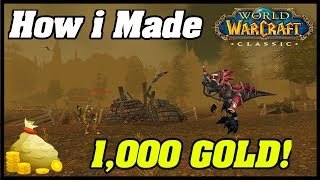 A question frequently asked, how did i gold farm in world of warcraft classic and achieve 1000 gold? by using this farm! cheapest gametime for war...