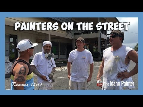 PAINTER ON THE STREETiews of fellow painters.