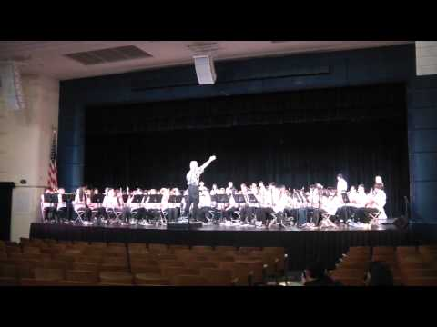 Bernal Intermediate School Advanced Band Performing English Dances