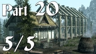 Skyrim Walkthrough - Part 20 - Hearthfire Dlc [5/5] (pc Gameplay / Commentary)