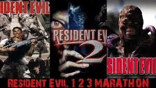 Resident Evil 1 2 3 - Trilogy Marathon! (No Saves/No Deaths)