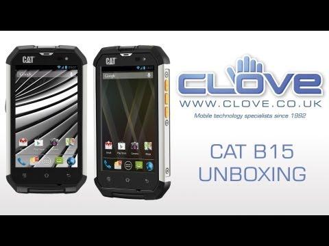 Cat B15 Tough Smartphone Unboxing